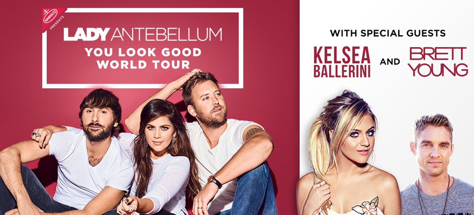 Lady Antebellum You Look Good Tour  July